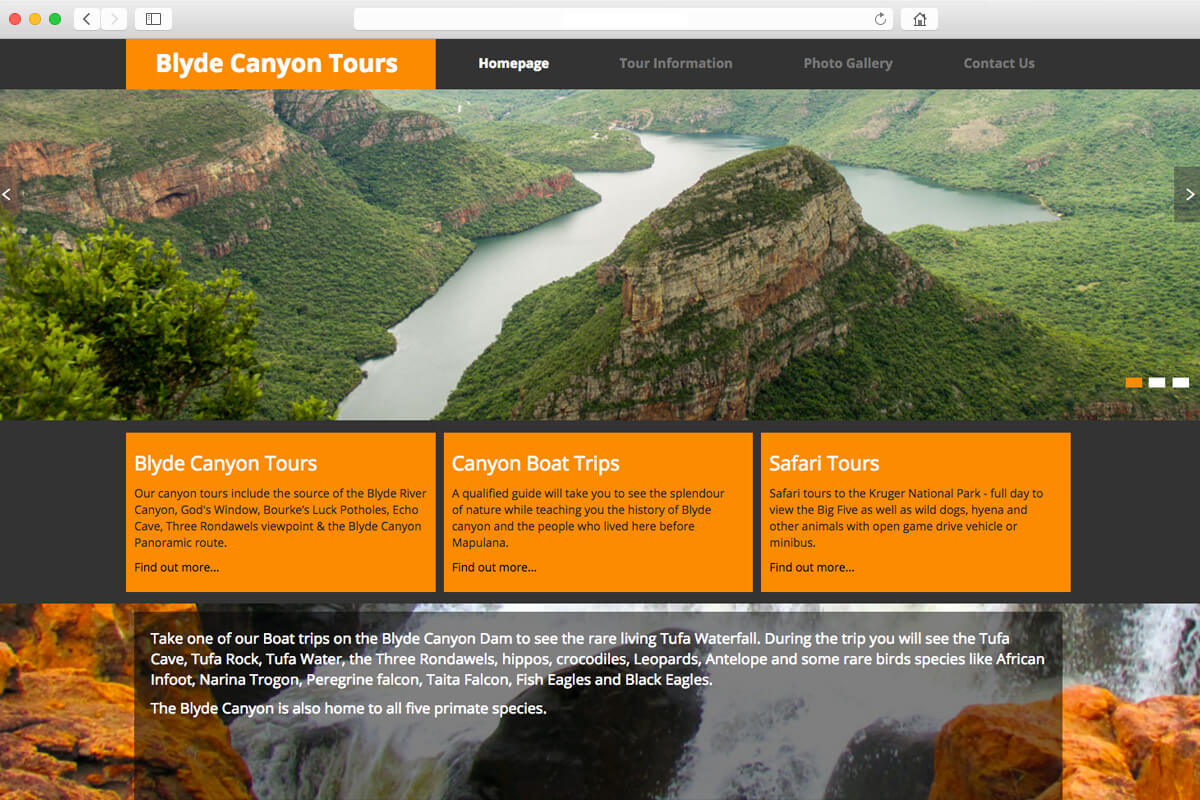 Blyde Canyon Tours